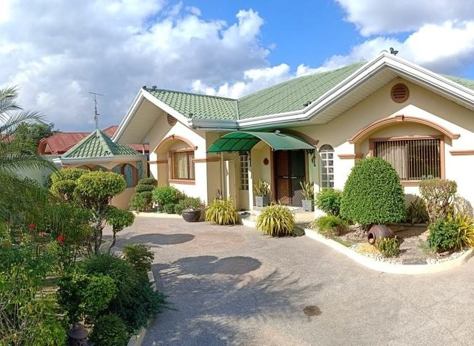 Fully furnished house and lot with pool in Angeles City near Marquee Mall