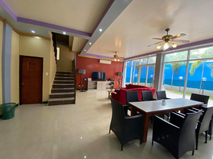 Angeles City fully furnished house and lot with pool for sale!