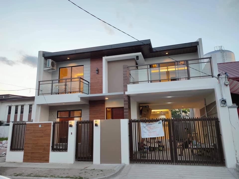 Eleganly made brand new house and lot for sale