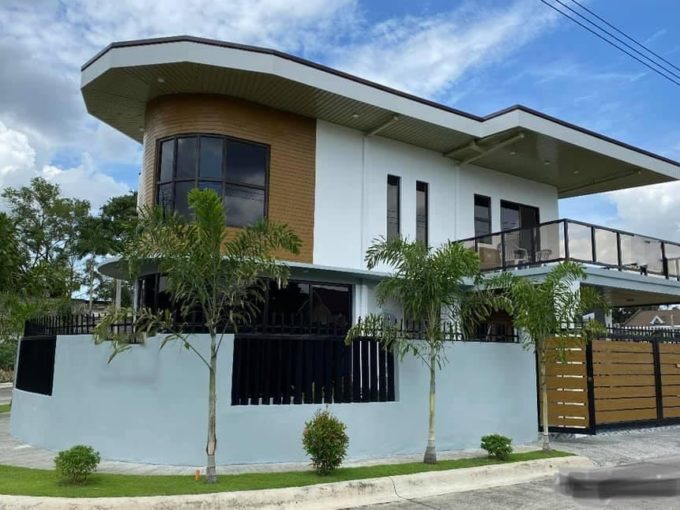Brand new semi-furnished house and lot near Clark for sale